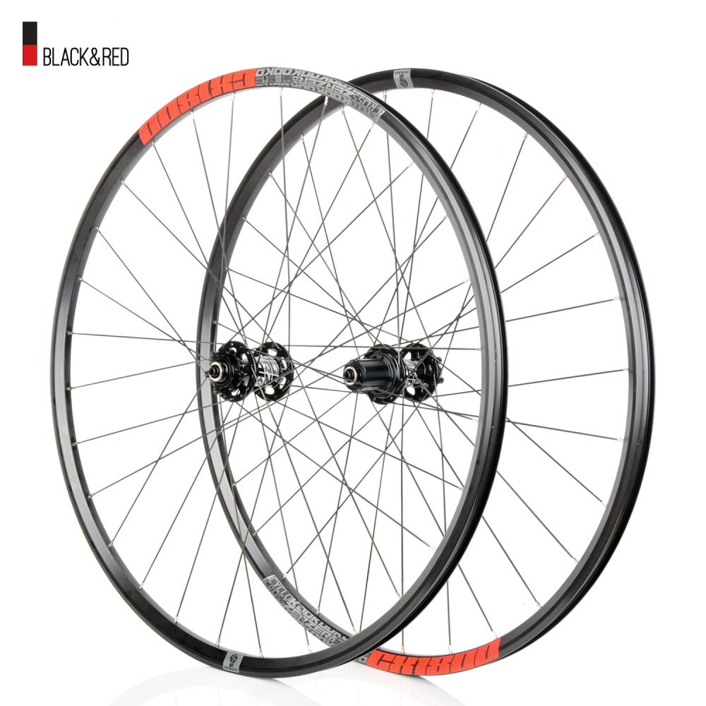 koozer 1 Pair 1.87kg 700c 6 Pawls 72 Clicks Red Bicycle Wheels Aluminum Alloy 28H Matt Road Bike Wheels Disc Brake For 8-11S(China)