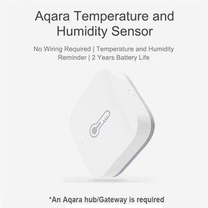 Image 5 - Aqara Temperatuur Vochtigheid Sensor Zigbee Sluit Voor Xiaomi Smart Home Deur Raam Sensor Menselijk Lichaam Sensor Werken Met Aqara Hub