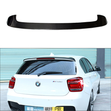 For BMW F20 Spoiler 2012 - 2018 1 Series 116i 120i 118i M135i F20 F21 Carbon Fiber Rear Trunk Boot Lip Roof Spoiler Wing стоимость