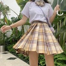 Japanese School Uniforms Orange Skirts Girl's Dresses JK Suits Bowknot Shirt Female Sailor Costumes Dress Clothes for Women