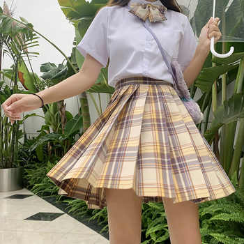 Japanese School Uniforms Orange Skirts Girl\'s Dresses JK Suits Bowknot Shirt Female Sailor Costumes Dress Clothes for Women - DISCOUNT ITEM  30 OFF Novelty & Special Use