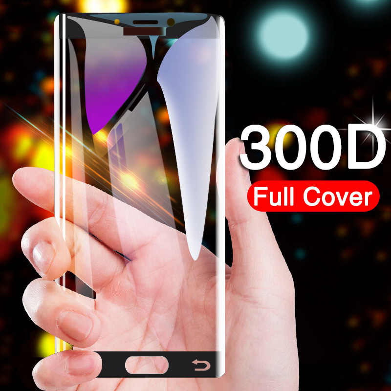 300D زجاج واقي على ل samsung galaxy A3 A5 A7 J3 J5 J7 2016 2017 S7 المقسى واقي للشاشة الزجاج طبقة حماية