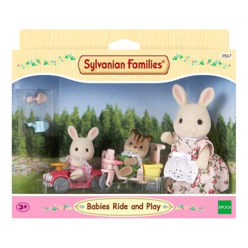 Sylvanian juguetes de familia Sylvanian familias bebé salida caso-chica jugar muñeca 5040 - 3