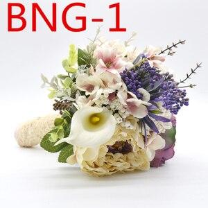Image 1 - ウェディングブライダルアクセサリー保持花 3303 BNG