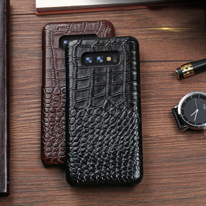 Image 5 - Crocodile Genuine leather Case For Samsung Galaxy A3 A5 A6 A7 A8 A9 A6S A8S A9S Plus Star Pro 2017 2018 Phone Back Cover