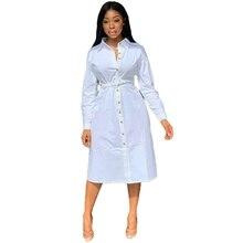 Long Plus Size Shirt Dress