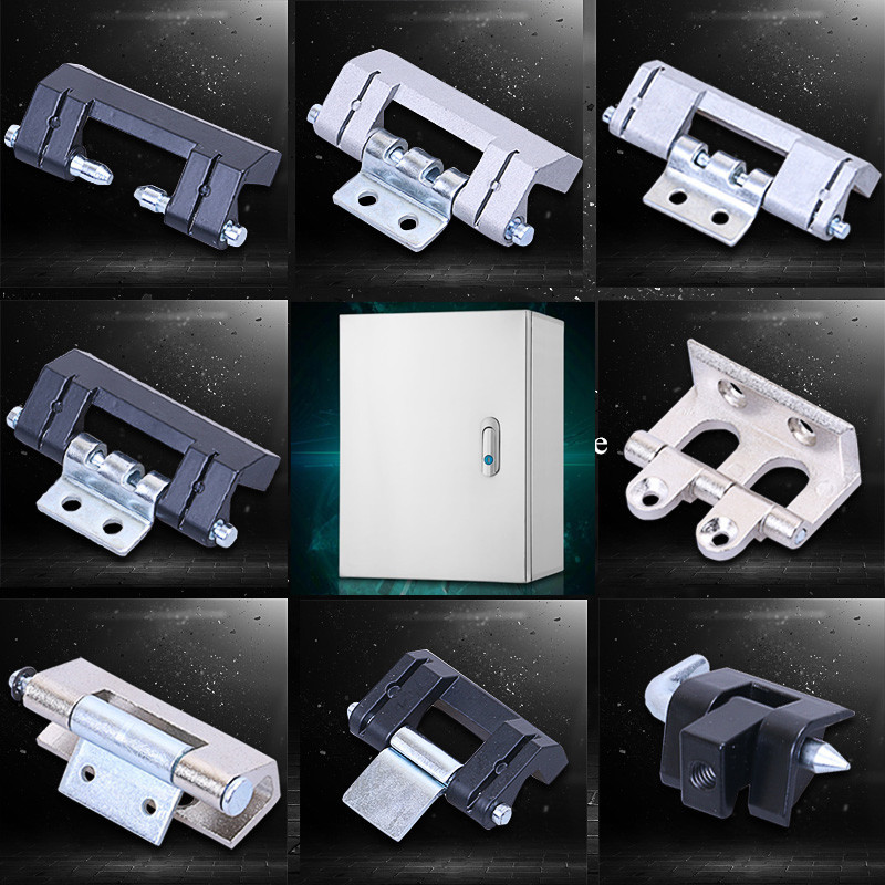 Heavy distribution box hinge zinc alloy Hidden Casement window seat Hinge support Thicken industry electric cabinet Hardware