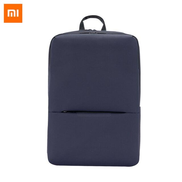 Оригинальный классический деловой рюкзак Xiaomi Mi, 2 поколения, уровень 4, водонепроницаемый, 15,6 дюйма, сумка на плечо для ноутбука, уличная дорожная сумка