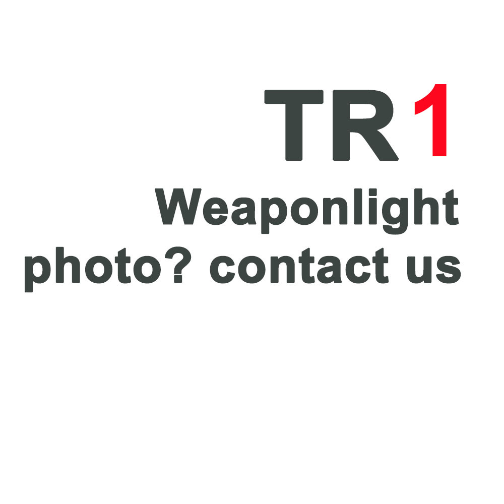 Tactical TLR Fullsize LED Weapon Light With Red Laser Sight For Pistol Hunting Glock 17 19 3 4 8  SIG CZ Laser Flashlight-1