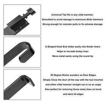 PDR כלים תיקון דנט עבור דלת ופגוש קצה תיקונים לא צבוע דנט תיקון רכב גוף הסרת ערכת שקע לא צבוע תיקון כלי קיט