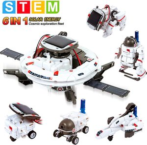 Technology 2020 Solar Robot Toys Educational Science Kits Toys Learning Scientific Fantasy Toy for Children Boys