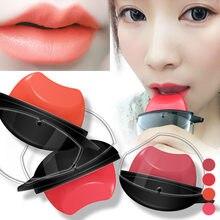 2021 novo 6 cores lipgloss feminino cosméticos lábio compõem lábios preguiçosos em forma de batom de longa duração hidratante à prova dwaterproof água batom