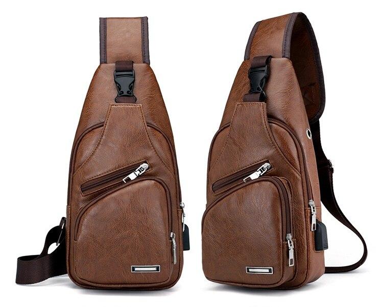 masculino sacos de ombro peito pacote cintura LI-2506