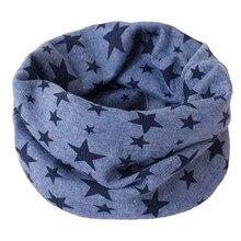 Коллекция года, весенне-осенний Детский шарф с рисунком, зимний теплый хлопковый шарф для девочек и мальчиков, круглый шарф, детский шейный платок