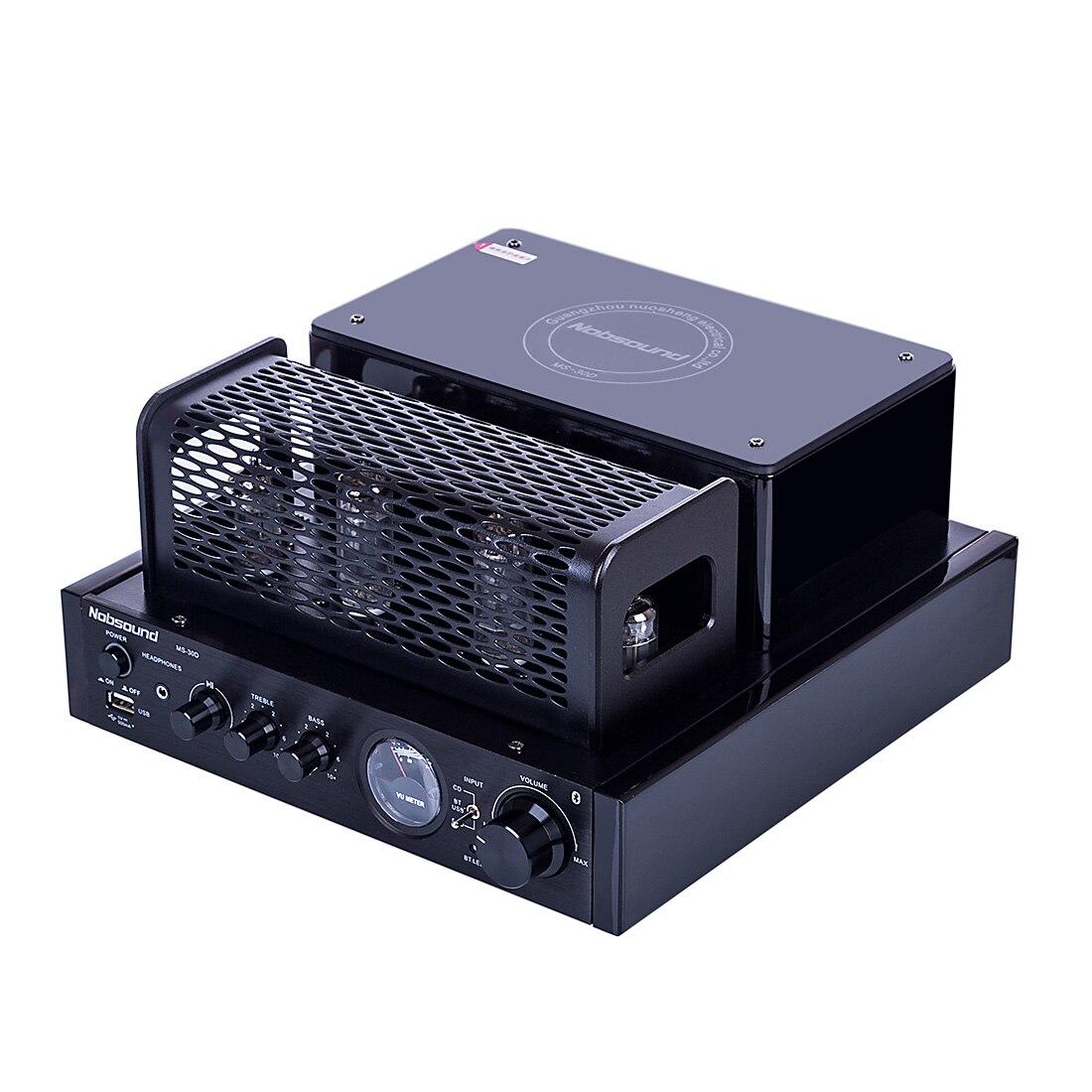 Nobsound MS 30D Bluetooth 2,0 Hifi усилитель ламповый усилитель с 220 В плоской вилкой домашние аудио и видео театры усилители