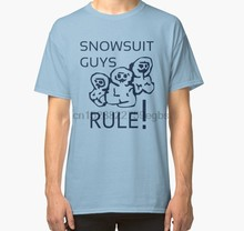 Men tshirt Snowsuit Guys T Shirt Minuemen Classic T Shirt women T-Shirt tees top(China)