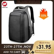 Tigernu Splashproof z zabezpieczeniem przeciw kradzieży męskie plecaki 15.6 cal Laptop Notebook plecak z USB dla nastoletnich kobiet mężczyzna Mochila