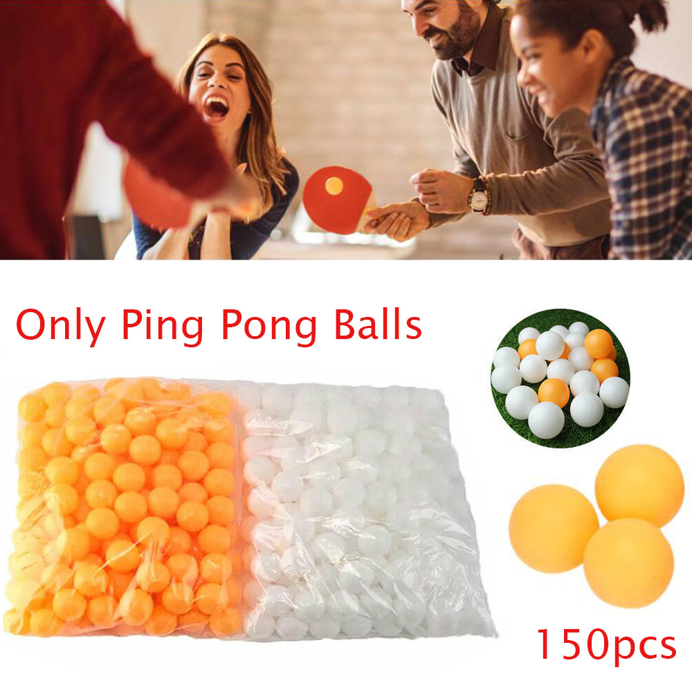 150pcs/Bag Professional Table Tennis Ball 40mm Diameter Ping Pong Balls For Competition Training Low Pirce Hot Sale