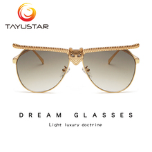 TIIYU Women man Sunglasses 2020 Fashion Luxury High Quality Cat Head Frame