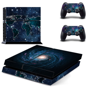Image 3 - Galaxy For PS4 Vinyl Skin Sticker Cover For PS4 Playstation 4 Console + 2 Controller Decal Game Accessories