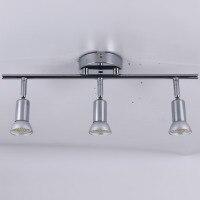 Einen kopf zwei kopf decke lampe 3 kopf 4 köpfe led Drehbare led decke licht winkel einstellbar mit GU10 led lampe Wohnzimmer