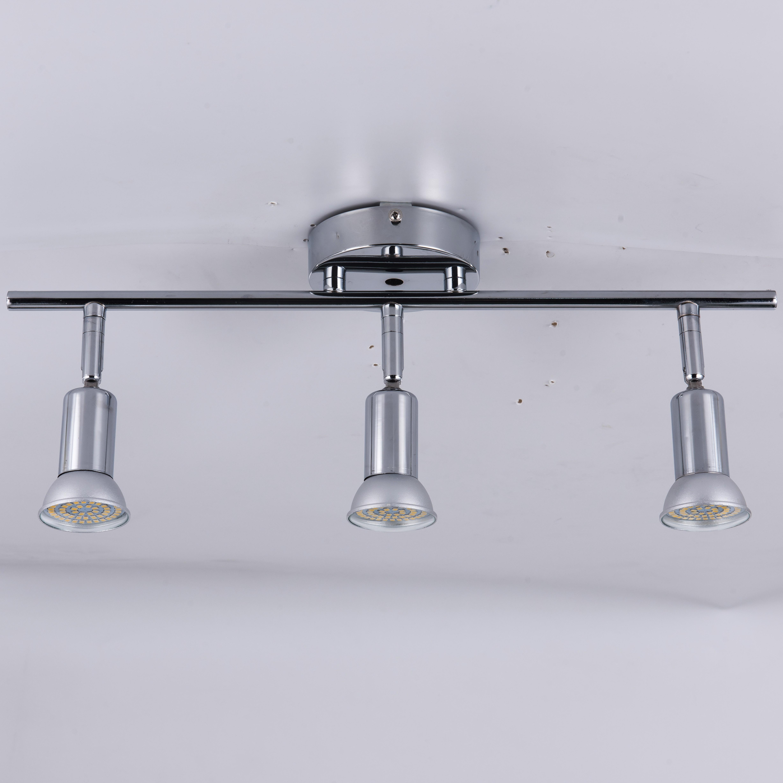 One Head Two Head Ceiling Lamp 3head 4 Heads Led Rotatable Led Ceiling Light Angle Adjustable With GU10 Led Bulb Living Room
