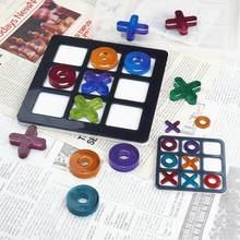DIY Tic-Tac-Toe OX gra w szachy żywica formy UV epoksydowa Silcione formy biżuteria odlewania Making rzemiosło żywiczne Handmade