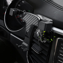 Car Holder Bracket For Mobile Phone Cell Dashboard Air Vent Stand Clip Mount Aromatherapy For Volkswagen teramont X 2017-2019