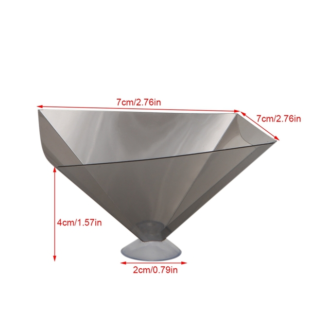 3D Holographic Projector Pyramid Display With Sucker For 3.5-6Inch Smartphone Drop Ship 3