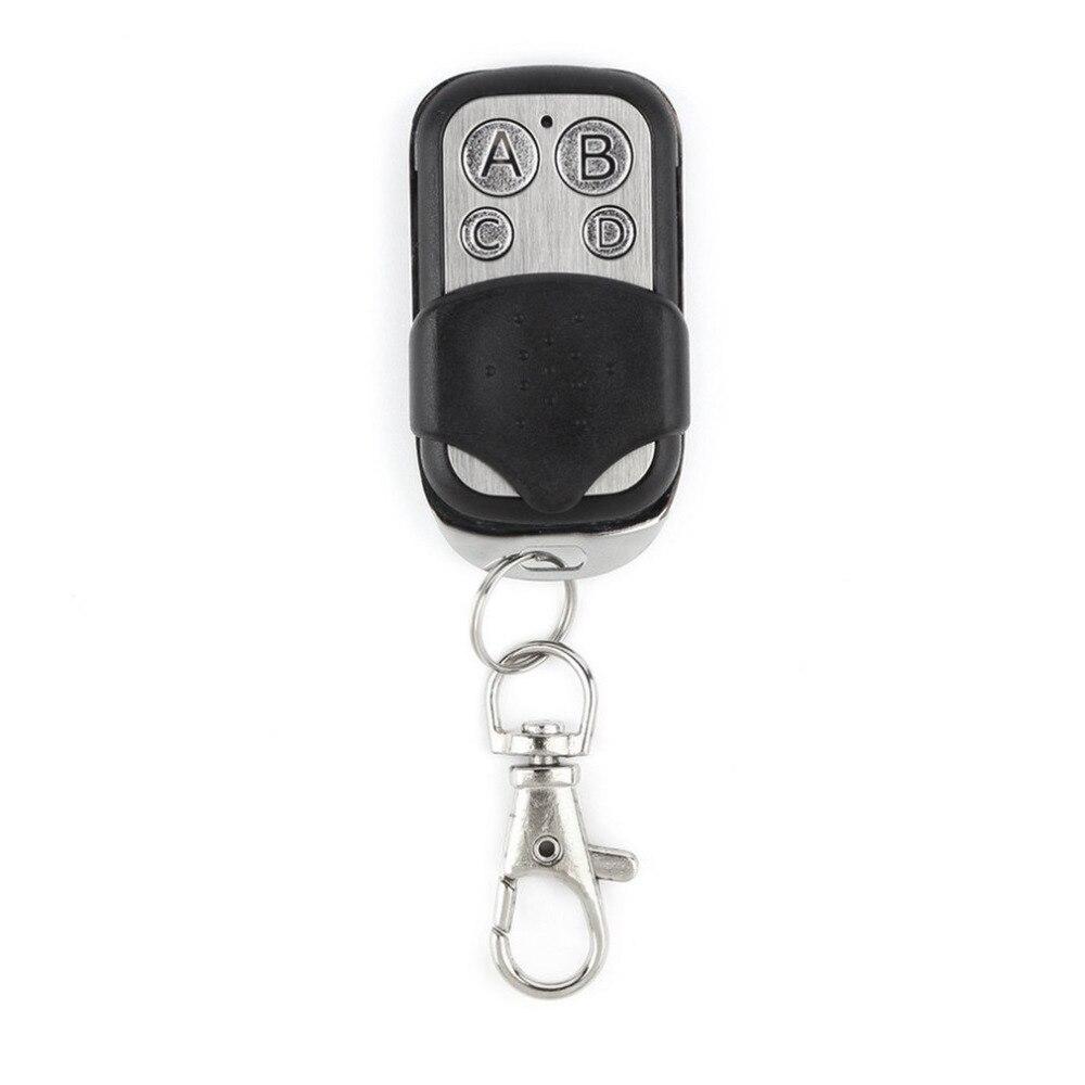 Mini Copy Code 4 Channel  Remote Control Cloning Duplicator Key Transmitter 433 MHz Learning Garage Door Gate Opener