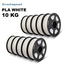 Enotepad PLA Filament For 3D Printer Plastic PLA Filament Dimensional Accuracy +/-0.02mm 5/10Rolls/set PLA wire for 3d printer