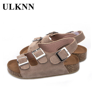 ULKNN 2020 kid's Summer BOY'S Girls' Slipper Baby Sandals Cosy Girl Summer Sandals For Boys students school sandals(China)