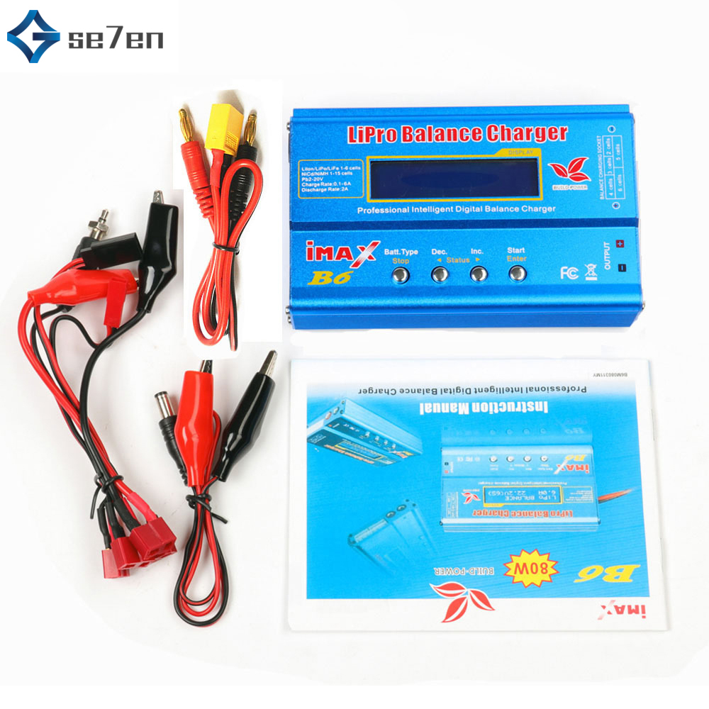 Balance-Charger MINI Imax B6 NIMH/NICD Helicopter for RC Re-Peak LCD Original title=