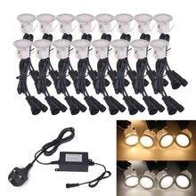 12 В светодиодный подземный светильник ландшафтный декоративный