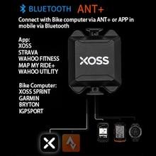 XOSS רכיבה על מקצב חיישן מד מהירות קצב לב צג פרו ANT + Bluetooth 4.0 עבור Wireless מחזור מחשב עבור אופניים APP