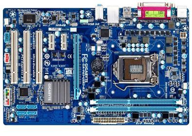 original USED motherboard for Gigabyte GA-P61-<font><b>USB3</b></font>-B3 DDR3 LGA 1155 P61-<font><b>USB3</b></font>-B3 16GB USB2.0 <font><b>USB3</b></font>.0 H61 Desktop Motherboard image