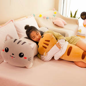 Cat-Pillow Plush-Toy...