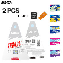 MIXZA 100% Original Memory Card 2PCS 256GB 128GB 64GB U3 80MB/S 32GB sd card Class10 UHS-1 flash card Memory sd TF/SD Cards