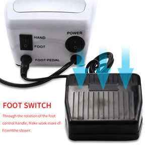 Image 4 - 35000/20000 RPM Electric Nail Drill Machine Manicure Pedicure with 6 Cutter Nail Drill bits Kit Manicure Drills & Accessories