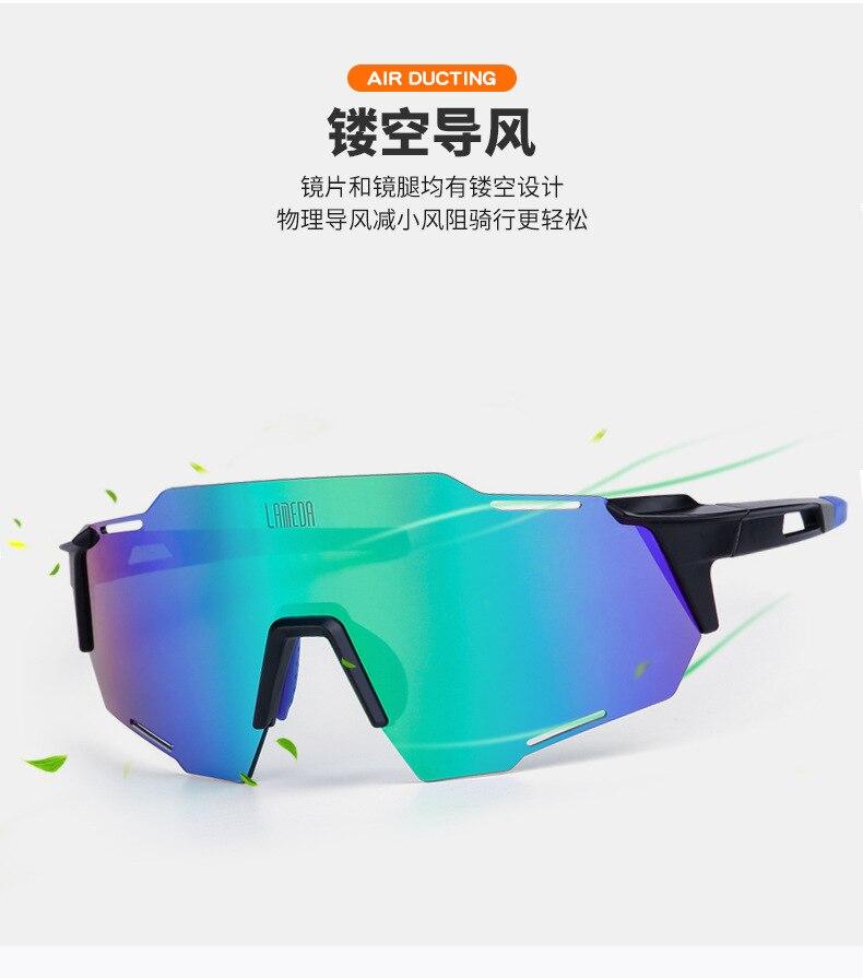 Lameda ciclismo óculos anti-ultravioleta polarizado luz mountain