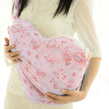 Baby Sling Adjustable Nursing Pouch Carrier Slings Wrap Baby Backpack Ring Wrap Breathable Ergonomic Infant Front Slings