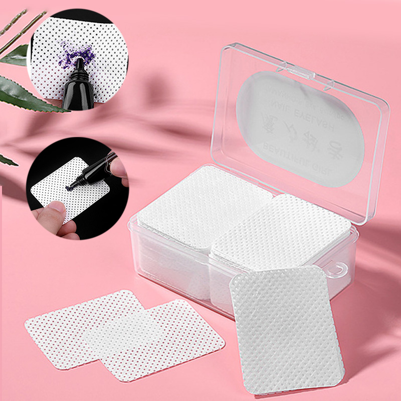 180 Sheets Eyelash Grafting Extension Lash Glue Cleaning Cotton Pads Wipes Makeup Comestic Clean Tools