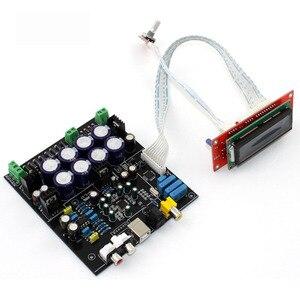 Image 2 - Sem cartão filha usb ak4490 + ak4118 op amp ne5532 decodificador de controle macio dac placa decodificador de áudio F2 011