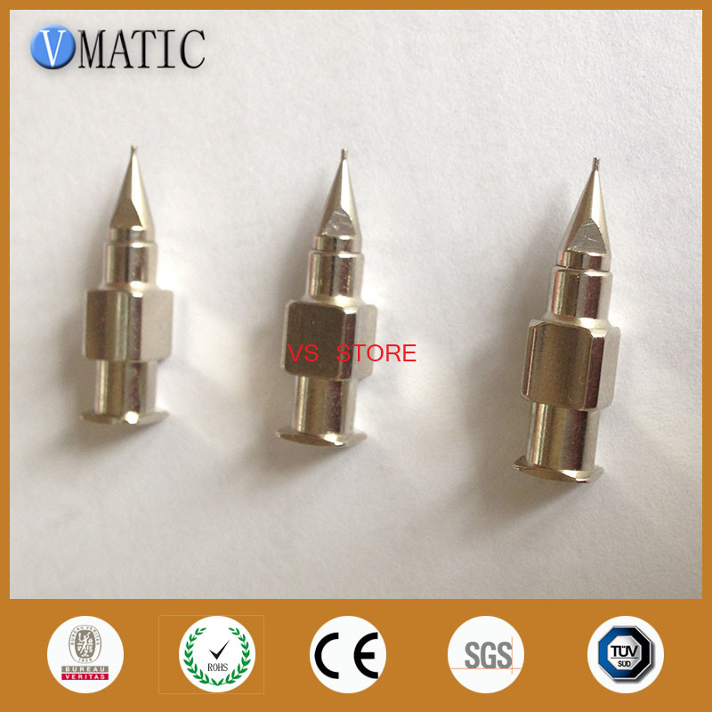 Free Shipping CE Approved Stainless Steel Tapered Nozzles Dia 1mm Metal High Precision Dispensing Needle