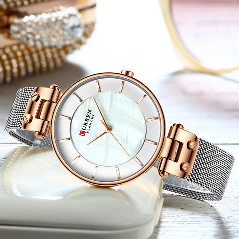 Relogios Feminino Women Quartz Watches Curren Top Brand Luxury Watch Ladies Wristwatch Ladies Girls Fashion Colck Gift