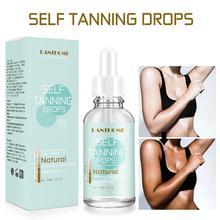 30ml Powerful Self Dark Tanning Cream Body Mitt Skin Tanning Oil Lotion