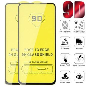 10pcs/lot 9D Full Tempered Glass For Xiaomi 9 Pro 10 Lite Screen Protector For xiaomi MI CC9e 8Lite 5X 6 A2 Play Protective Film
