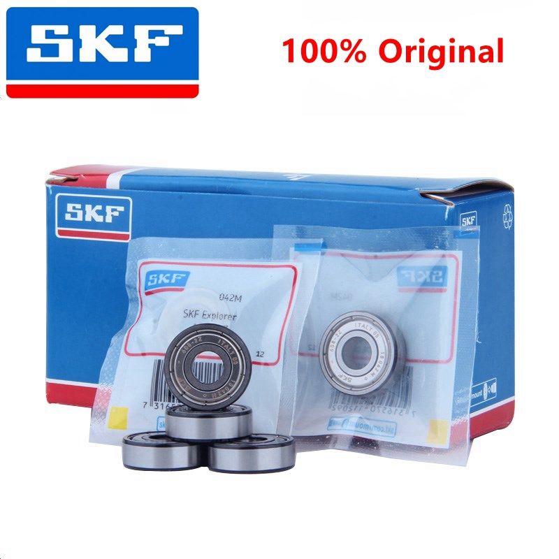 10pcs SKF high speed bearing 608-2Z 608-2RS1 8*22*7mm miniature ball bearings 608ZZ 608RS 8mm x 22mm