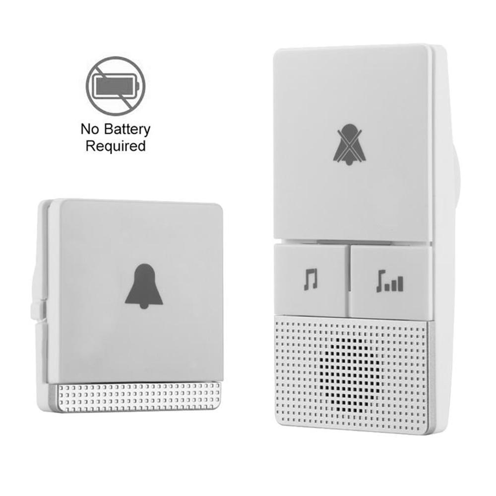 Doorbell Wireless Doorbell Self-Generation Old Man Pager Home Long Distance 1 Drag 1 Electronic Doorbell