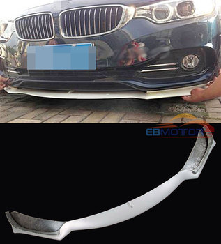 UNPAINTED Front Lip Spoiler For Bmw F32 Normal Bumper 2014UP 428i 435i B168F image